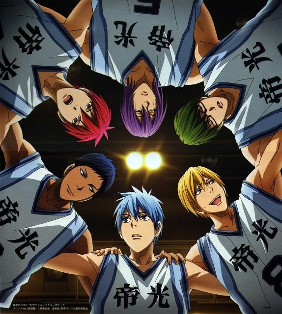 Tadatoshi Fujimaki, Production I.G, Kuroko no Basket, Daiki Aomine, Atsushi Murasakibara