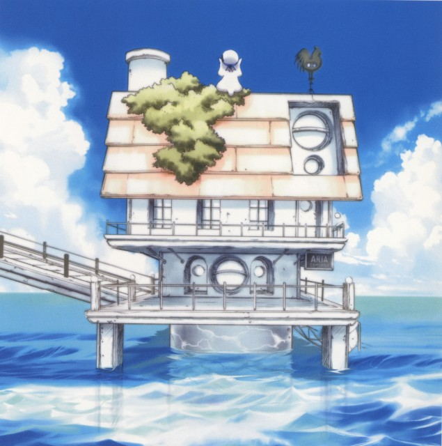 Kozue Amano, Aria, Alpha: Kozue Amano Illustration Works