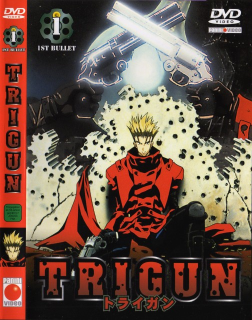 Madhouse, Trigun, Vash the Stampede, DVD Cover
