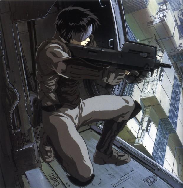 Masamune Shirow, Ghost in the Shell, Motoko Kusanagi