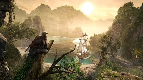 Ubisoft, Assassin's Creed IV, Edward Kenway, Game CG