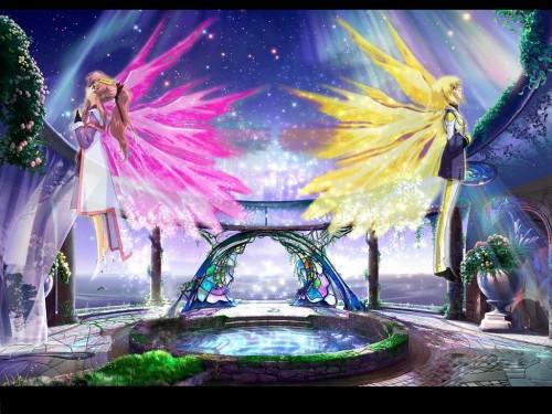 Sunrise (Studio), Mobile Suit Gundam SEED Destiny, Cagalli Yula Athha, Lacus Clyne Wallpaper