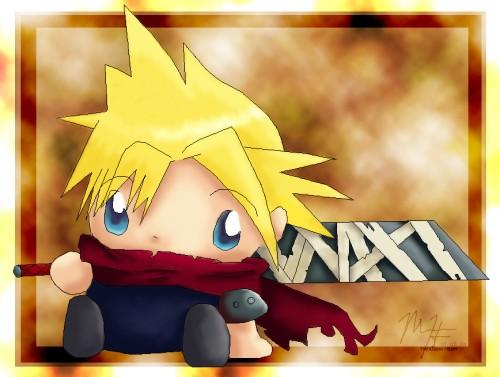 Square Enix, Kingdom Hearts, Cloud Strife, Member Art