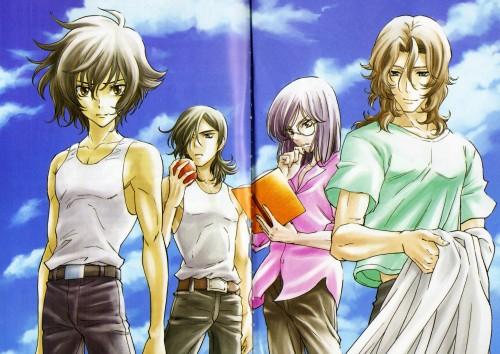 Mobile Suit Gundam 00, Lockon Stratos, Tieria Erde, Setsuna F. Seiei, Allelujah Haptism