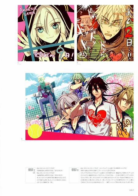 Mai Hanamura, Idea Factory, Translucent - Hanamura Mai Artbook, AMNESIA, Ukyo (AMNESIA)
