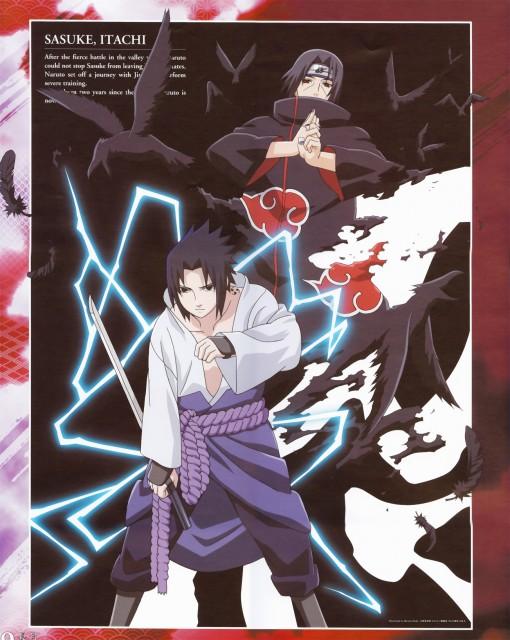 Studio Pierrot, Naruto, Itachi Uchiha, Sasuke Uchiha, Calendar