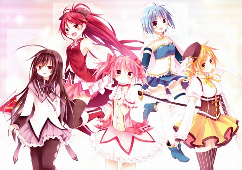 Kurumi Amane, Puella Magi Madoka Magica, Rain*Drop, Kyouko Sakura, Sayaka Miki