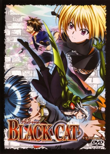 Kentaro Yabuki, Gonzo, Black Cat, Creed Diskenth, Eve