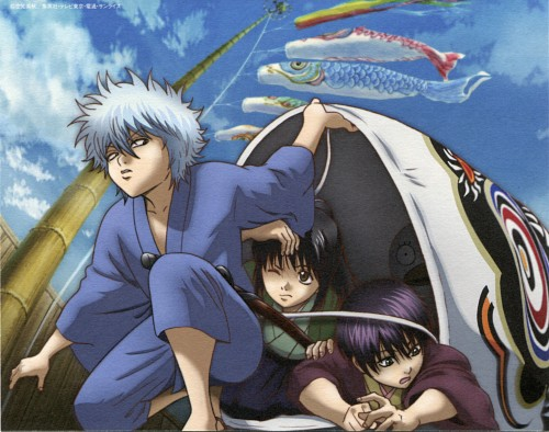 Hideaki Sorachi, Sunrise (Studio), Gintama, Elizabeth (Gintama), Gintoki Sakata