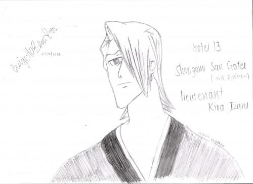Kubo Tite, Studio Pierrot, Bleach, Izuru Kira, Member Art