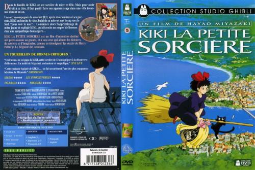Studio Ghibli, Kiki's Delivery Service, Jiji (Kiki's Delivery Service), Kiki Okino, DVD Cover