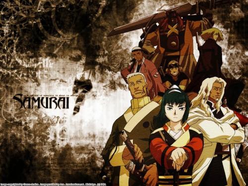 Gonzo, Samurai 7, Shichiroji, Okamoto Katsushiro, Shimada Kambei Wallpaper