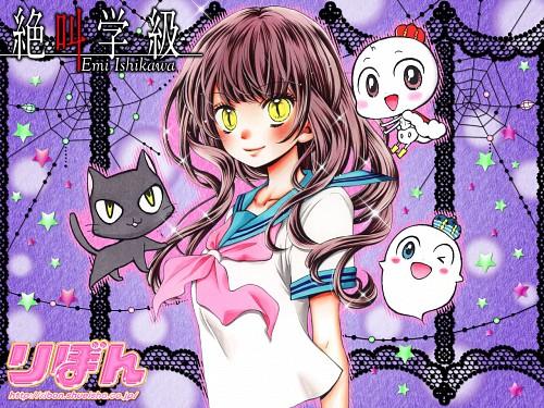 Emi Ishikawa, Zekkyou Gakkyuu, Yumi Akimoto, Official Wallpaper