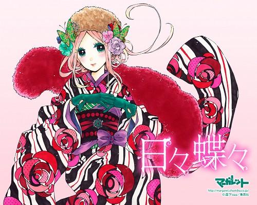 Suu Morishita, Hibi Chouchou, Suiren Shibaseki, Official Wallpaper