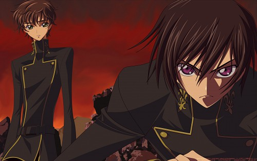 Takahiro Kimura, Sunrise (Studio), Lelouch of the Rebellion, Lelouch Lamperouge, Suzaku Kururugi Wallpaper