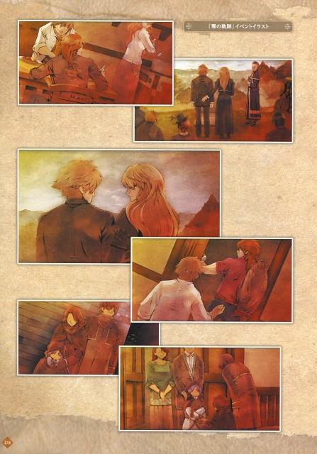 Falcom, The Legend of Heroes Illustration Artbook, The Legend of Heroes: Trails in the Sky