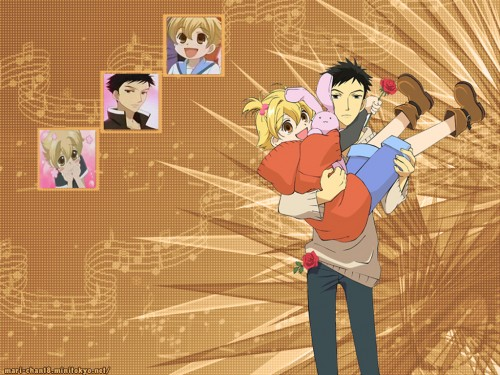 Hatori Bisco, BONES, Ouran High School Host Club, Mitsukuni Haninozuka, Takashi Morinozuka Wallpaper