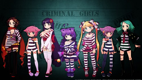 Imageepoch , Criminal Girls, Yuko (Criminal Girls), Alice (Criminal Girls), Sako (Criminal Girls) Wallpaper