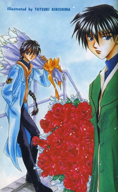 Sunrise (Studio), Mobile Suit Gundam Wing, Duo Maxwell, Heero Yuy, Doujinshi