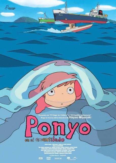 Hayao Miyazaki, Studio Ghibli, Gake no Ue no Ponyo, Ponyo