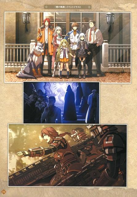 Falcom, The Legend of Heroes Illustration Artbook, The Legend of Heroes: Trails in the Sky, The Legend of Heroes: Zero no Kiseki, Zeit