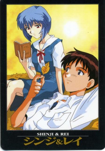 Yoshiyuki Sadamoto, Neon Genesis Evangelion, Shinji Ikari, Rei Ayanami