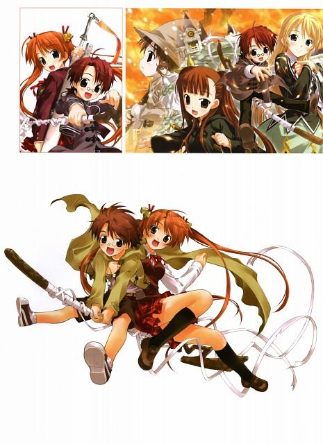 Takuya Fujima, Xebec, Mahou Sensei Negima!, Takuya Fujima Illustrations ViVidcolor, Nekane Springfield