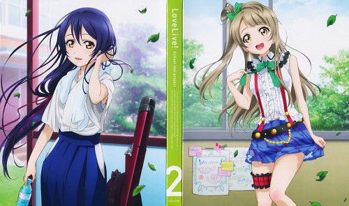 Sunrise (Studio), Love Live! School Idol Project, Kotori Minami, Umi Sonoda, DVD Cover