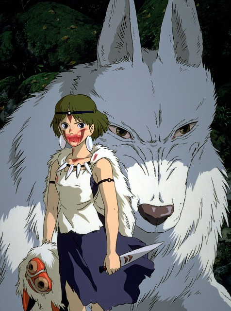 Studio Ghibli, Princess Mononoke, Moro, San, Official Digital Art