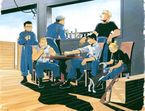 Hiromu Arakawa, BONES, Fullmetal Alchemist, Fullmetal Alchemist Artbook Vol. 2, Heymans Breda