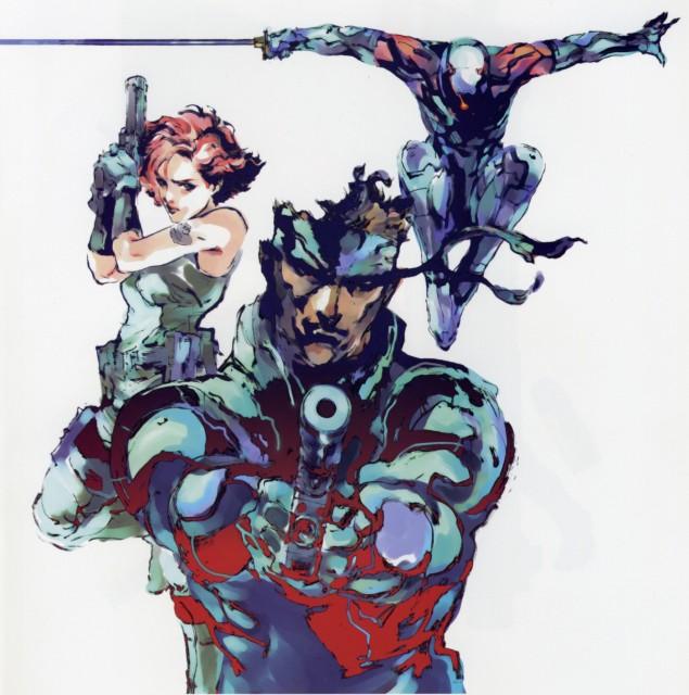 Konami, Metal Gear Solid, Meryl Silverburgh, Solid Snake