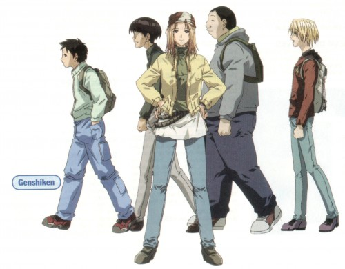 Genco, Genshiken, Mitsunori Kugayama, Kanji Sasahara, Saki Kasukabe