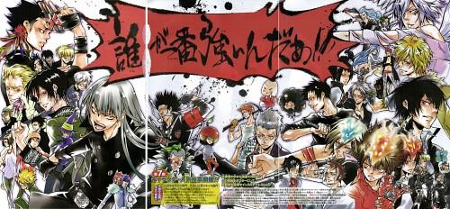 Akira Amano, Katekyo Hitman Reborn!, Basil, Fran, Rauji Ooyama