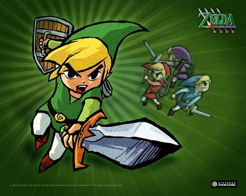 Nintendo, The Legend of Zelda: Four Swords Adventures, The Legend of Zelda, Toon Link, Link