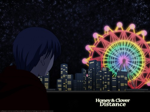 Chika Umino, J.C. Staff, Honey and Clover, Yuuta Takemoto Wallpaper
