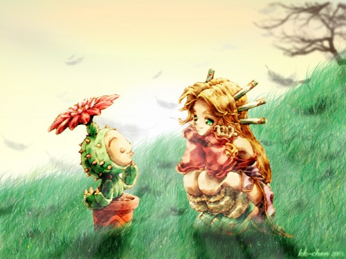 Square Enix, World of Mana Wallpaper