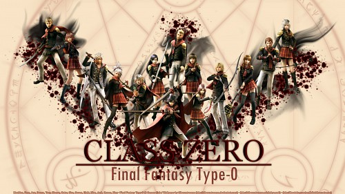 Square Enix, Final Fantasy Type-0, King (Final Fantasy Type-0), Trey, Eight (Final Fantasy Type-0) Wallpaper