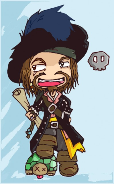 Hector Barbossa, Misc Non-Anime, Member Art