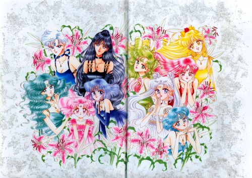 Naoko Takeuchi, Bishoujo Senshi Sailor Moon, BSSM Original Picture Collection Vol. IV, Princess Mercury, Princess Mars