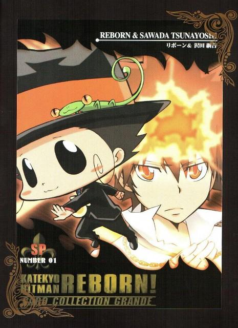 Akira Amano, Artland, Katekyo Hitman Reborn!, Tsunayoshi Sawada, Leon (Katekyo Hitman Reborn!)