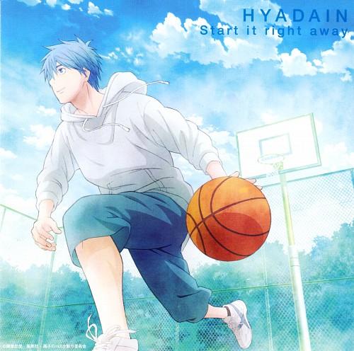 Tadatoshi Fujimaki, Production I.G, Kuroko no Basket, Tetsuya Kuroko, Album Cover