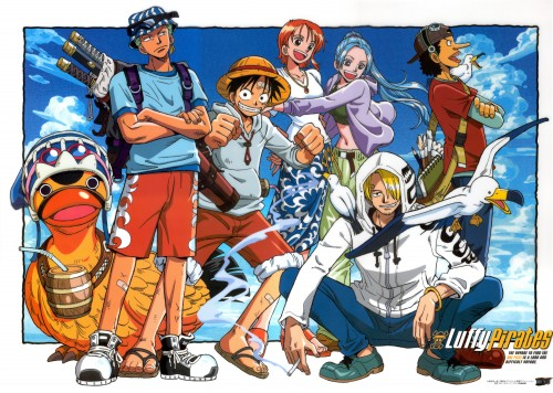 Eiichiro Oda, One Piece, Nami, Monkey D. Luffy, Usopp