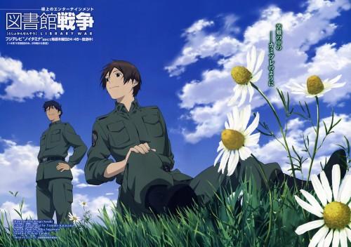 Sukumo Adabana, Production I.G, Toshokan Sensou, Kasahara Iku, Atsushi Dojo
