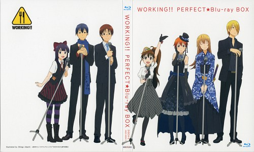 Karino Takatsu, A-1 Pictures, Working!!, Aoi Yamada, Hiroomi Souma