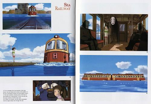 Studio Hibari, Studio Ghibli, Spirited Away, The Art of Spirited Away, Yu-bird