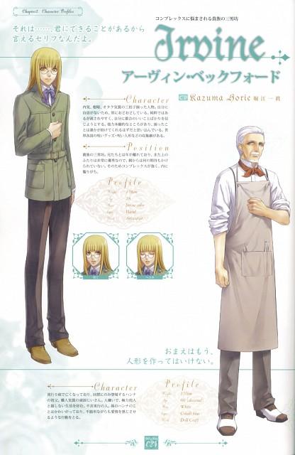 Kagerou Usuba, Idea Factory, Will o' Wisp Official Visual Fan Book, Will o' Wisp