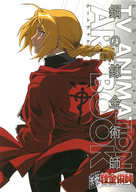 Hiromu Arakawa, BONES, Fullmetal Alchemist, Edward Elric, Artbook Cover