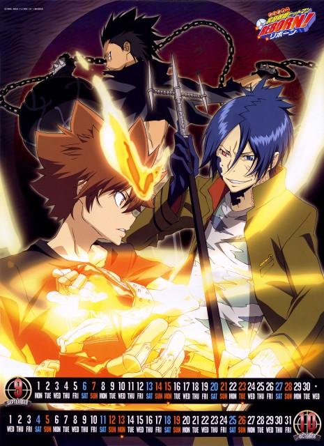 Akira Amano, Artland, Katekyo Hitman Reborn!, Tsunayoshi Sawada, Lancia