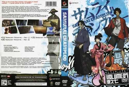 Kazuto Nakazawa, Samurai Champloo, Fuu, Mugen, Jin