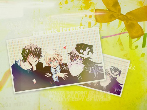 Jun Mochizuki, Xebec, Pandora Hearts, Alice, Oz Vessalius Wallpaper